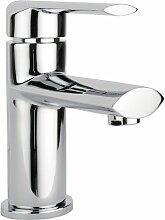 Waschtischarmatur Badarmatur Waschbecken Wasserhahn Armatur incl. Ablaufgarnitur