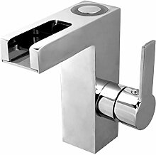 Waschtischarmatur - Chrom Armatur für das Bad ·