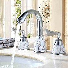 Waschtischarmatur Chrom Messing Griff Waschbecken