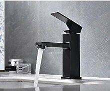 Waschtischarmatur Edelstahl Wasserhahn Waschbecken