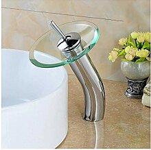 Waschtischarmatur Europäischen Kupfer Wasserfall