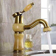 Waschtischarmatur Gold Luxus Messing Und Jade