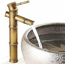 Waschtischarmatur Hohe Einhebel Antik Messing