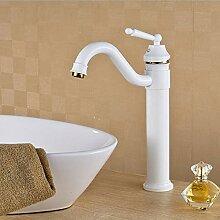 Waschtischarmatur Luxus Weiße Farbe Bad