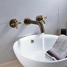 Waschtischarmatur Messing Antik Bad Wasserhahn