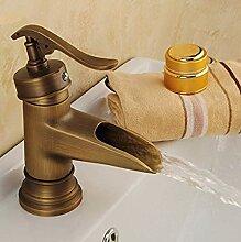 Waschtischarmatur Messing Einhebel Wasserhahn Bad