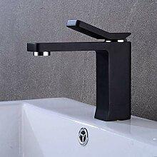 Waschtischarmatur, moderne Einhebel-Waschbecken