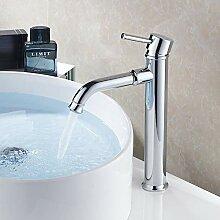 Waschtischarmatur Moderne Luxus Chrom Warmes Und