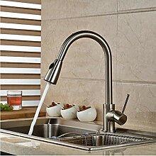 Waschtischarmatur Nickel gebürstet Küchenarmatur