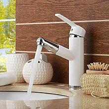Waschtischarmatur Weiße Sanitärkeramik