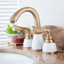 Waschtischarmaturen Becken Wasserhahn Kupfer