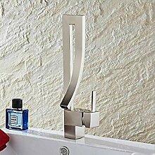 Waschtischarmaturen Einhand-Deck montiert Chrom