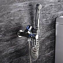 Waschtischarmaturen HPB Zeitgenössische verchromt Messing Bohrung zwei einzigen Griff Waschbecken Wasserhahn