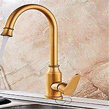 Waschtischarmaturen Küchenarmatur Gold