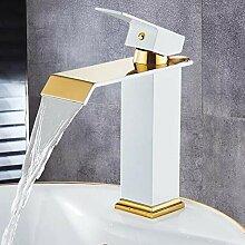 Waschtischarmaturen Quadratischer Wasserfall
