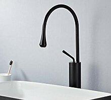 Waschtischarmaturen Schwarz/Weiß Waschbecken