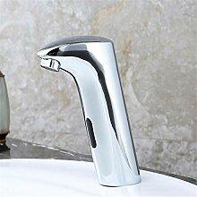 Waschtischarmaturenkupfer Becken Sensor Wasserhahn
