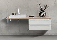 Waschtischplatte nach Maß Design Badmöbel Set