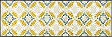 wash + dry 088523 Viola Fußmatte, Acryl, Beige, 60 x 180 x 0.7 cm
