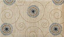 wash+dry Chiaro waschbarer Teppich, Größe:140 x