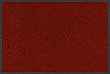 wash+dry Fußmatte Rubinrot 40x60 cm