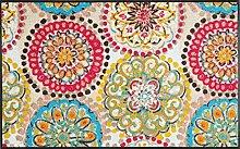 Wash+Dry Fußmatte Vintage Fresko 75x120 cm