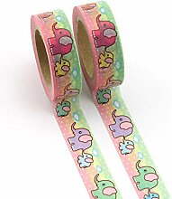 Washi Tape Sets Vintage 1/2/3Pcs New Diy Cute
