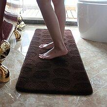 Wasser-Absorption-Skid-Badematte/Schlafzimmer-Fußmatte/Badvorleger-B 45x120cm(18x47inch)
