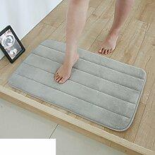 Wasser-badematte/badezimmer toilette matte/wasserdichte pad-U 50x80cm(20x31inch)