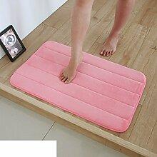 Wasser-badematte/badezimmer toilette matte/wasserdichte pad-T 50x80cm(20x31inch)
