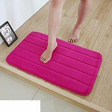 Wasser-badematte/badezimmer toilette matte/wasserdichte pad-V 50x80cm(20x31inch)