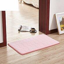 Wasser Badematte/Wohnzimmer Badezimmer Tür Matte/Küche-Fußmatten/Fußmatten-A 50x120cm(20x47inch)