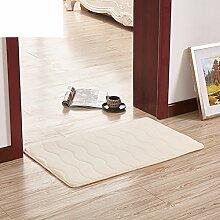 Wasser Badematte/Wohnzimmer Badezimmer Tür Matte/Küche-Fußmatten/Fußmatten-B 40x60cm(16x24inch)