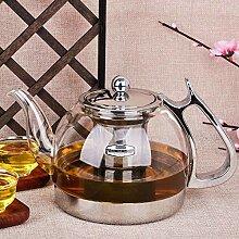 Wasser Kocher Tee Kanne Hitzebeständige Glas