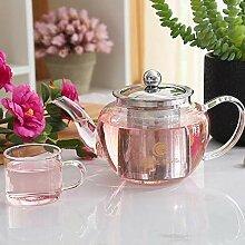 Wasser Kocher Tee Kanne Hitzebeständiges Glas