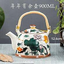 Wasser Kocher Tee Kanne Keramische Teekanne