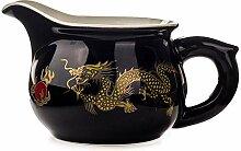Wasser Kocher Tee Kanne Tasse Tee-Set Goldener