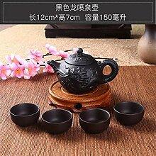 Wasser Kocher Tee Kanne Teekanne Purple Clay