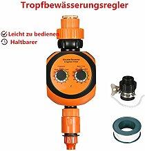 Wasser timer, Pathonor Automatische Garten Bewässerungscomputer Easycontrol POM ( Port-Durchmesser 24,2 mm Schnittstelle. Bewässerungszeit 1-120 Min, Anschlussgröße : 37.7mm hoch, 24,5 mm Durchmesser Zahnnut Schnittstelle.)