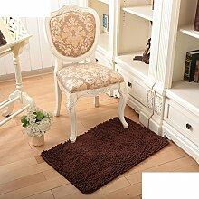 Wasserabsorbierenden für einen rutschfesten Teppich Wohnzimmer Couchtisch und Fussel Chenille Teppich/Schlafzimmer Nachttisch Teppiche/[Chenille Teppich Flusen]-M 160x230cm(63x91inch)