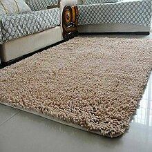Wasserabsorbierenden für einen rutschfesten Teppich Wohnzimmer Couchtisch und Fussel Chenille Teppich/Schlafzimmer Nachttisch Teppiche/[Chenille Teppich Flusen]-G 80x160cm(31x63inch)