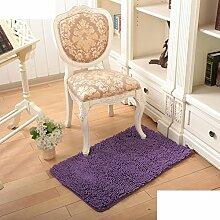 Wasserabsorbierenden für einen rutschfesten Teppich Wohnzimmer Couchtisch und Fussel Chenille Teppich/Schlafzimmer Nachttisch Teppiche/[Chenille Teppich Flusen]-H 160x230cm(63x91inch)