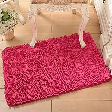 Wasserabsorbierenden für einen rutschfesten Teppich Wohnzimmer Couchtisch und Fussel Chenille Teppich/Schlafzimmer Nachttisch Teppiche/[Chenille Teppich Flusen]-N 160x230cm(63x91inch)