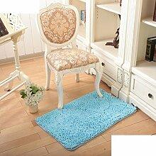 Wasserabsorbierenden für einen rutschfesten Teppich Wohnzimmer Couchtisch und Fussel Chenille Teppich/Schlafzimmer Nachttisch Teppiche/[Chenille Teppich Flusen]-A 120x170cm(47x67inch)