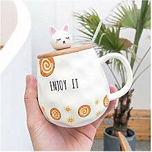 Wasserbecher Net Red Ceramic Cups Business Becher