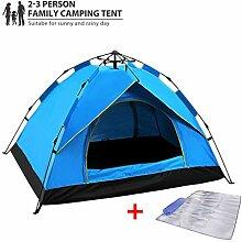 Wasserbeständig Und UV-Schutz-Pop-Up Zelt Für 2