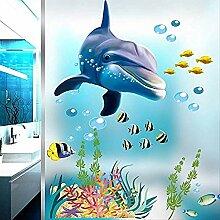 Wasserdicht Bad Küche Wandaufkleber Ozean