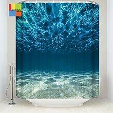 Wasserdicht Duschvorhang Marine Life