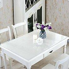 Wasserdicht pvc tischdecke heißen tischsets,transparente glasur weichglas kunststoff tischdecke-H 65x120cm(26x47inch)