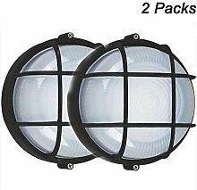 Wasserdicht Runde Deckenlampe, Gitter lampe,